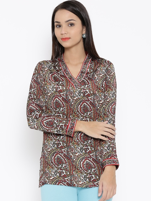 BIBA OUTLET Multicoloured Printed Kurti  available at myntra for Rs.399