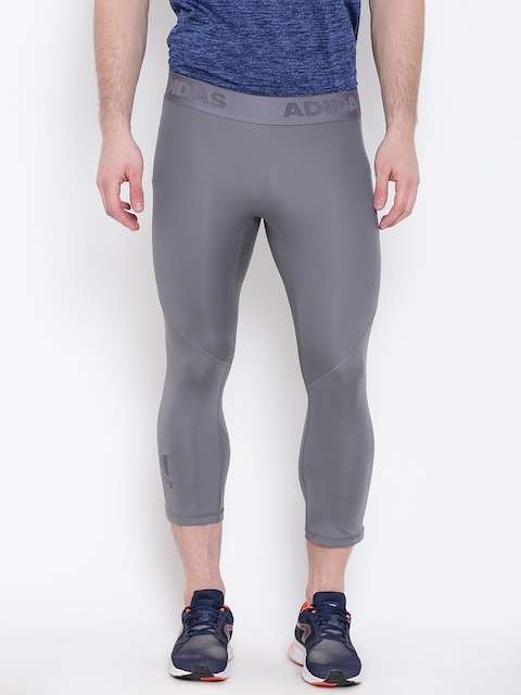 Adidas Men Grey ASK SPR 34 Training 3/4th Tights