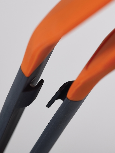 Joseph Joseph Black and Orange Turner Tongs