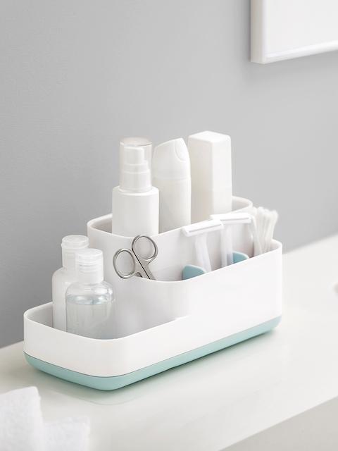 Joseph Joseph White Plastic Bathroom Caddy