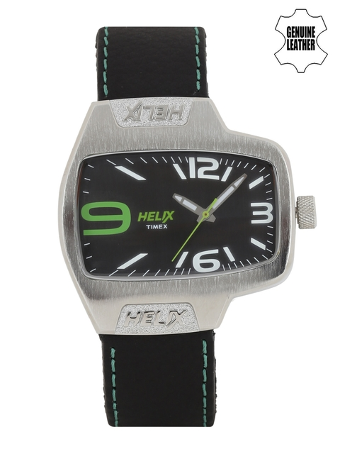 Timex Helix Men Black Analogue Watch TI020HG0000