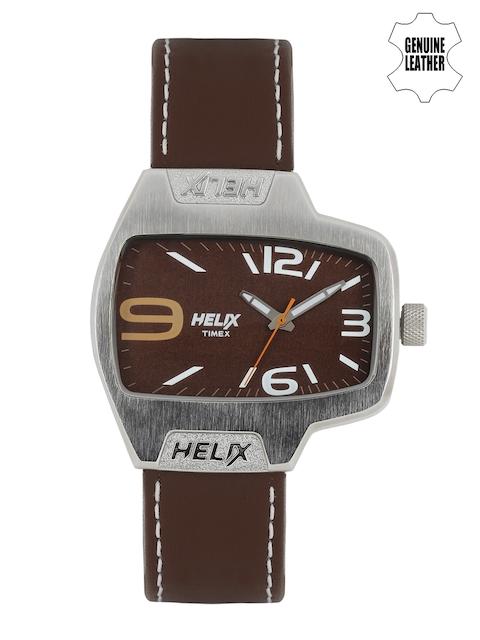 Timex Helix Men Brown Analogue Watch TI020HG0000