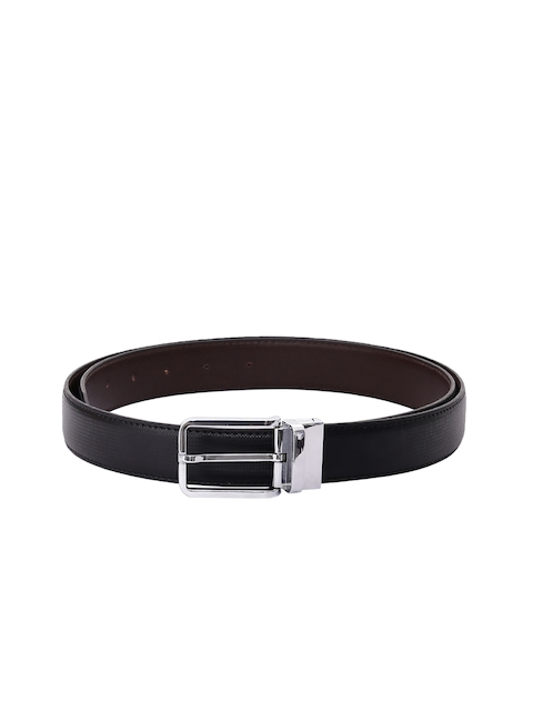 CHISEL Men Black Textured Belt