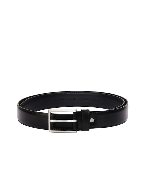 CHISEL Men Black Solid Belt