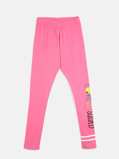 Sweet Dreams Girls Pink Solid Pyjamas