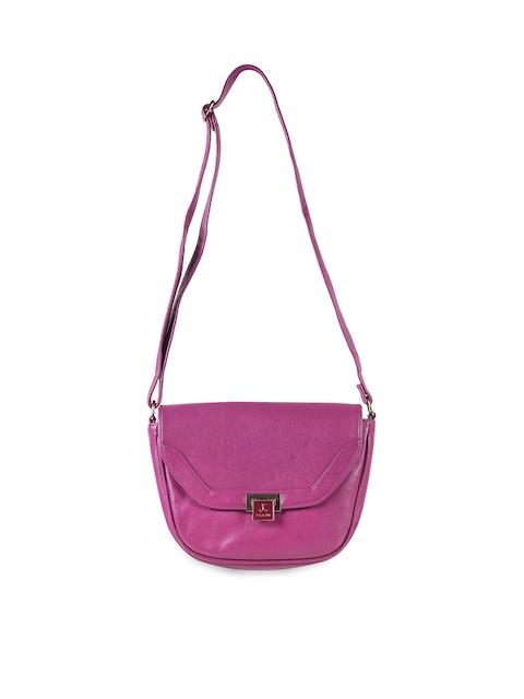 Mochi Purple Solid Sling Bag