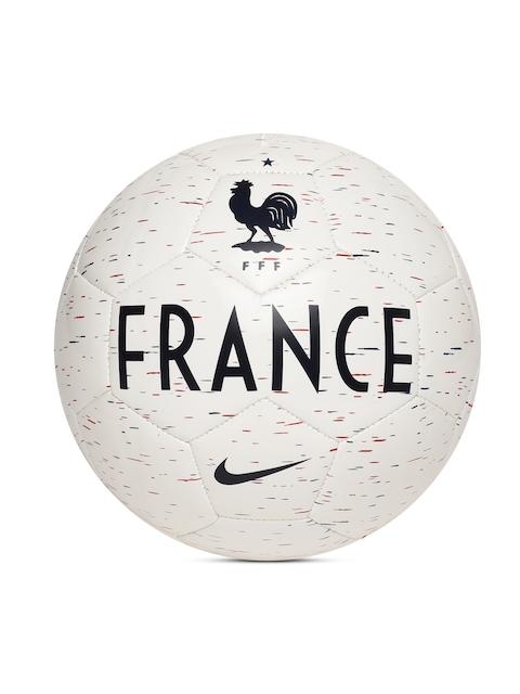 Nike Unisex White FFF NK Sports Printed Football