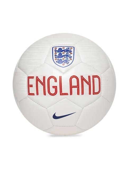 Nike Unisex White ENT NK PRSTG Printed Football