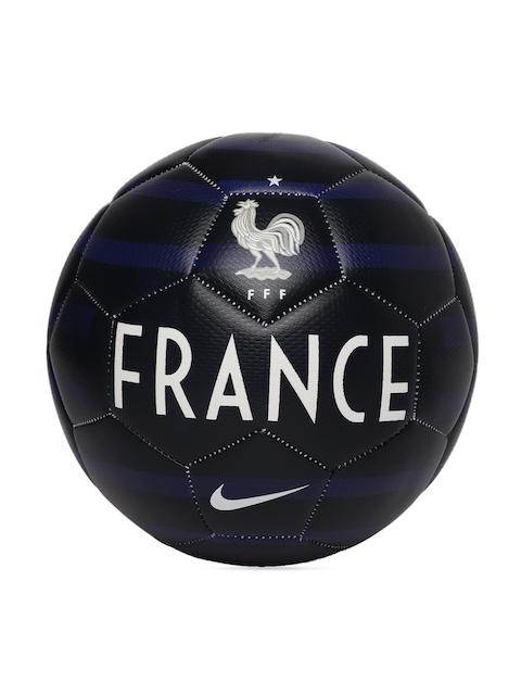 Nike Unisex Navy Blue & White FFF NK PRSTG Printed Football