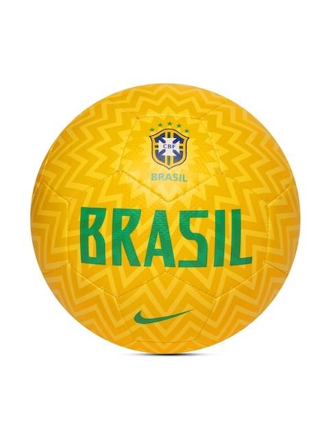 Nike Unisex Yellow CBF NK PRSTG Printed Football