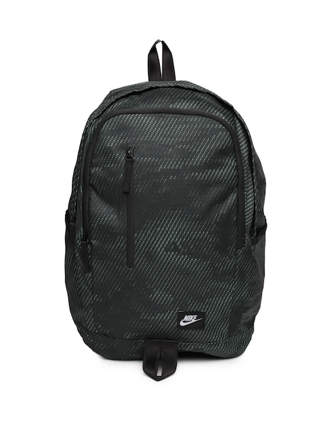 Nike Unisex Black All Access Soleday Graphic Backpack