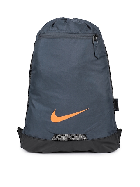 Nike Men Blue Brand Logo Print Alpha Adapt Backpack