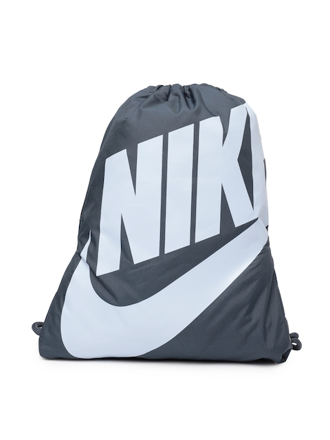 Nike Unisex Blue Brand Logo Print Heritage Gymsack
