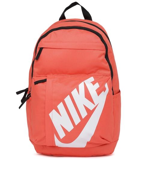 Nike Unisex Coral Brand Logo Backpack