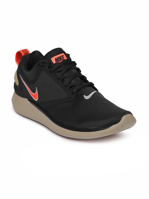 Nike Men Black LunarSolo Running Shoes