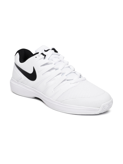 Nike Men White Air Zoom Prestige Tennis Shoes
