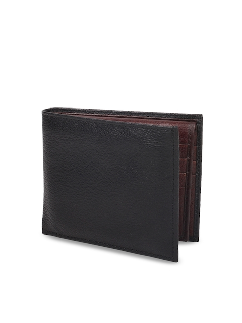 CHISEL Men Black Leather Two Fold Wallet