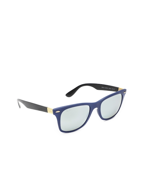 Ray-Ban Men Square Mirrored Sunglasses