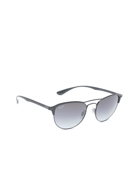 Ray-Ban Unisex UV Protected Oval Sunglasses 0RB3596186/8G54