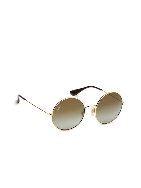 Ray-Ban Women Round Sunglasses 0RB3592001/T555