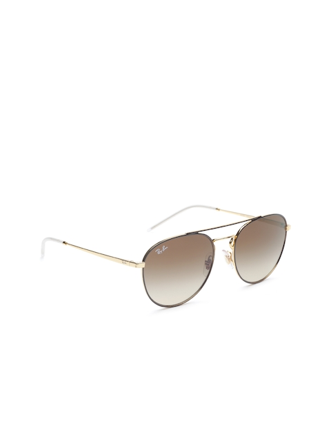 Ray-Ban Women Oval Sunglasses 0RB358990551355