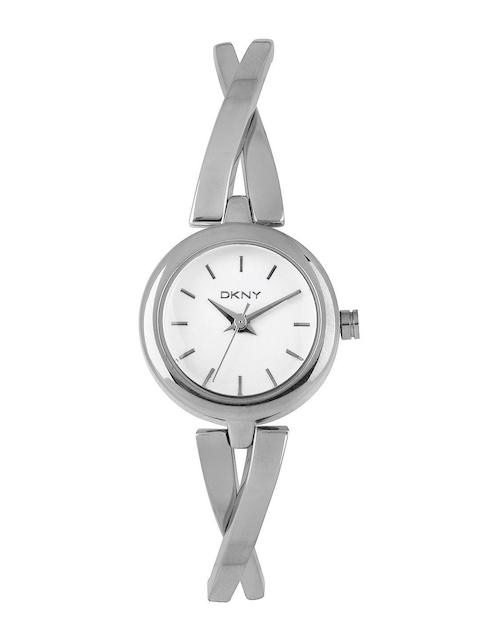 DKNY Women Silver-Toned Dial Watch NY2169I