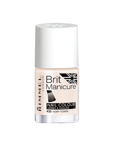 RIMMEL Brit Manicure Ivory Tower Nail Colour 433