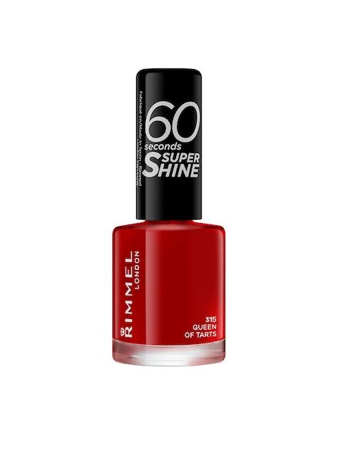 RIMMEL 60 Seconds Super Shine 315 Queen of Tarts Nail Polish, 8 ml
