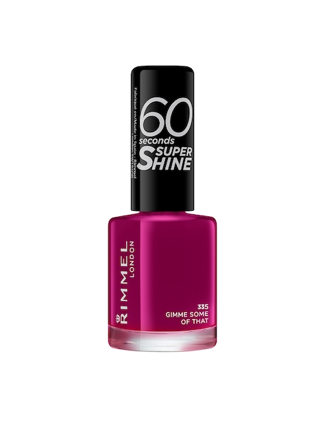 RIMMEL 60 Seconds Super Shine 335 Gimme Some Of That Nail Polish 8 ml