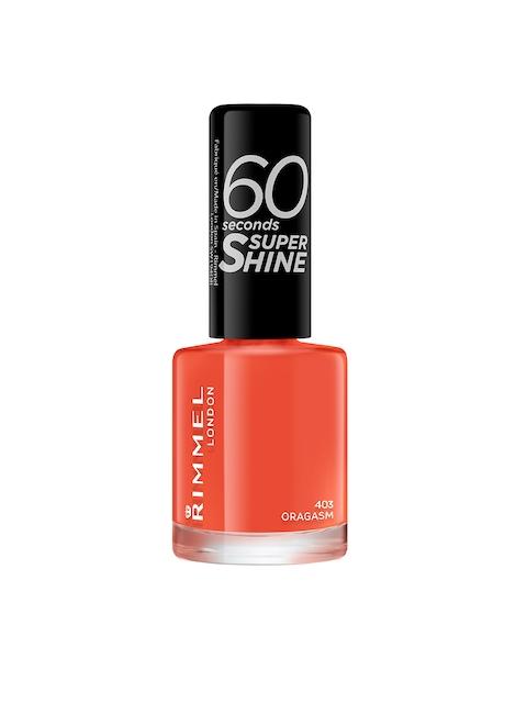 RIMMEL 403 Oragasm 60 Seconds Super Shine Nail Polish 8 ml