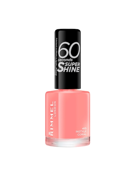 RIMMEL Instyle Coral 60 Seconds Super Shine Nail Polish 415