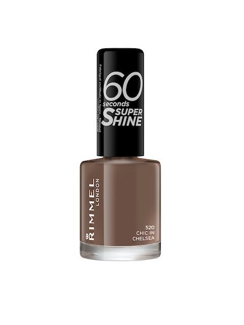 RIMMEL 520 Chic In Chelsea 60 Seconds Super Shine Nail Polish 8 ml