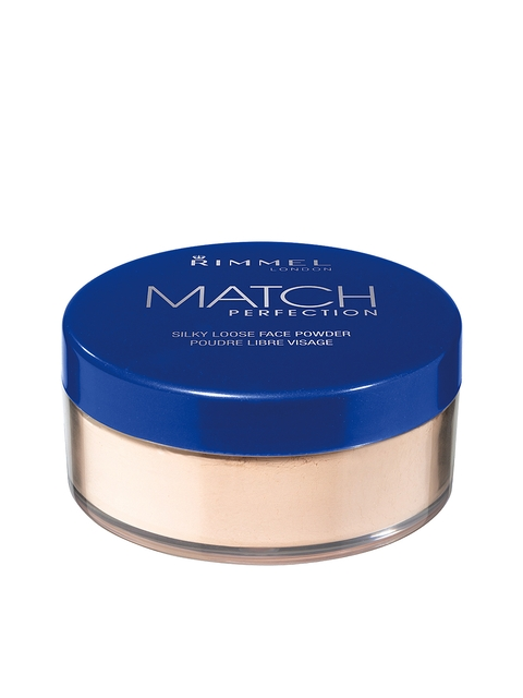 RIMMEL Transparent Match Perfection Silky Loose Face Powder 001