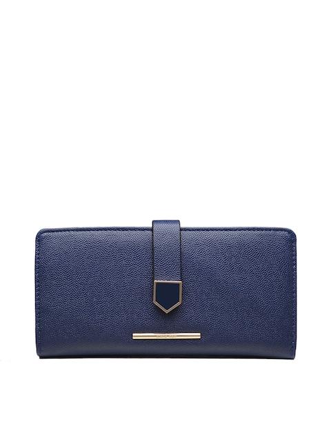 Diana Korr Women Blue Textured Money Clip