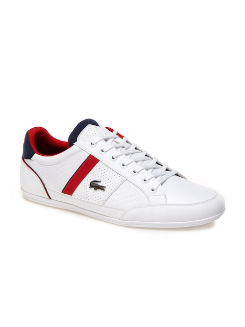 Lacoste Men White Trainers