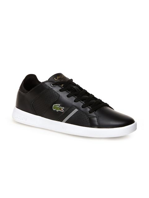 Lacoste Men Black Sneakers