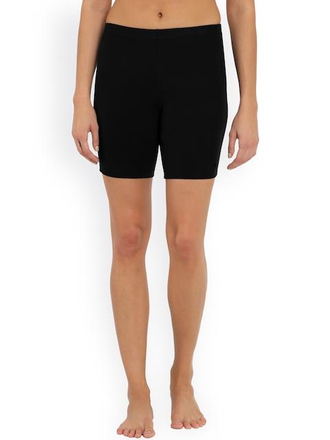 Jockey Women Black Shorties Briefs 1529-0105