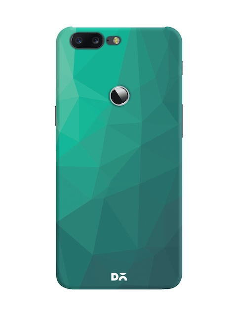 DailyObjects Unisex Green Solid OnePlus 5T Back Cover