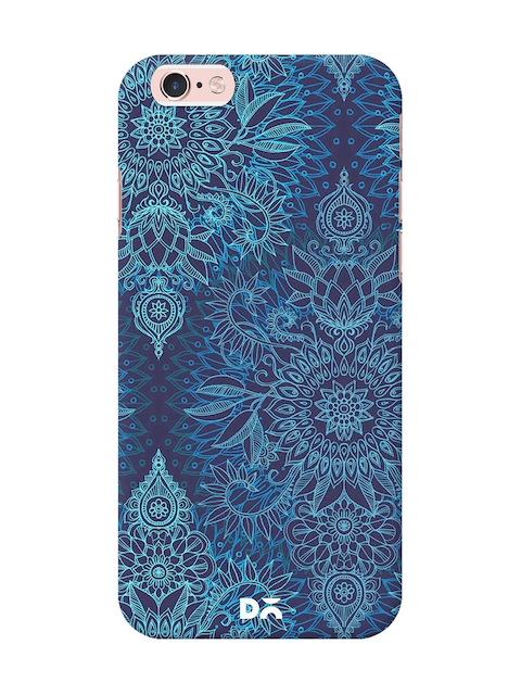 DailyObjects Blue Doodle Pattern Mobile Case Cover For iPhone 6/6s