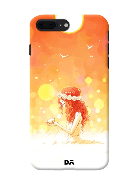 DailyObjects Orange August Dreams Case Cover For iPhone 8 Plus