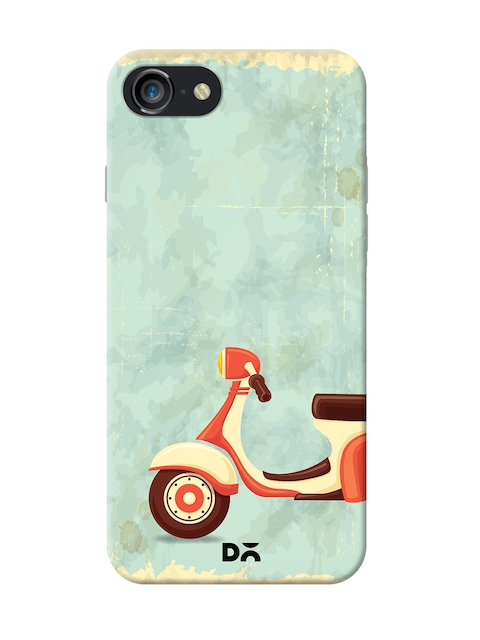 DailyObjects Unisex Blue Printed iPhone 7/8 Back Cover