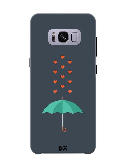 DailyObjects Grey Printed Mobile Case for Samsung Galaxy S8 Plus