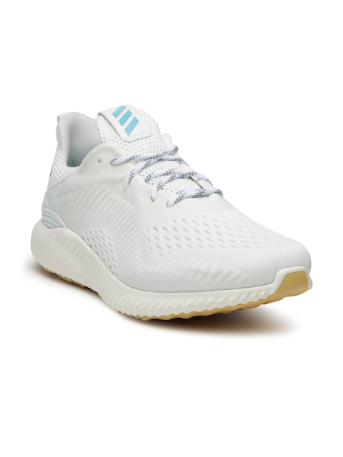 Adidas Men Off-White ALPHABOUNCE 1 PARLEY Running Shoes