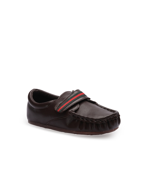 Jumps and Bumps Boys Brown Loafers