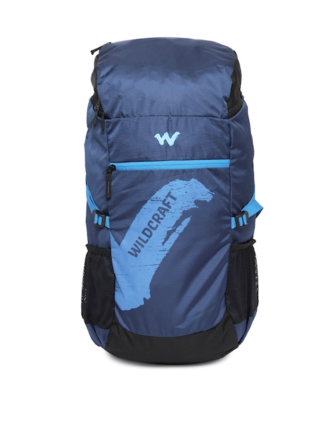 Wildcraft Men Blue Printed Rucksack