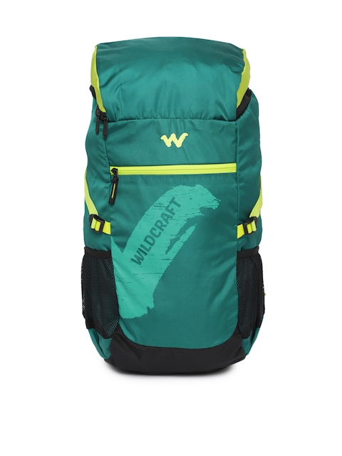 Wildcraft Men Green Printed Rucksack