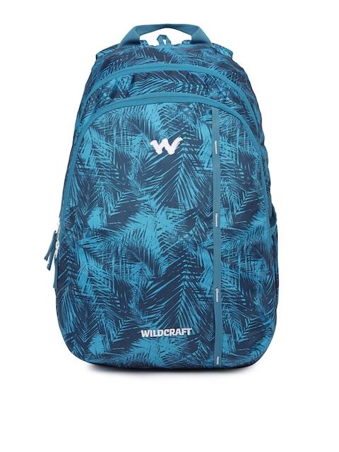 Wildcraft Men Blue Graphic Backpack