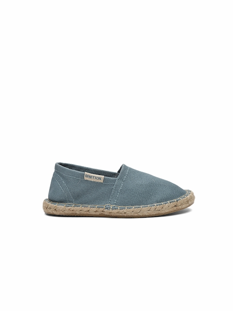 United Colors of Benetton Girls Blue Espadrilles