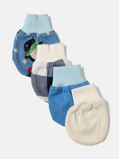 YK Organic Boys Pack of 4 Mittens