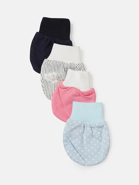 YK Organic Girls Pack of 4 Mittens